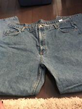 Marks Member Mens Jeans Size 42x32 Light Blue Wash
