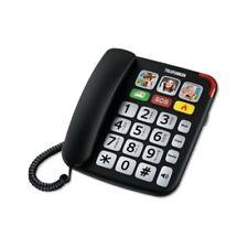 Telefunken TF701 : Téléphone Fixe Filaire pour Senior à Grosses Touches