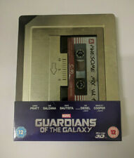 Guardians Of The Galaxy (Zavvi OOP - Blu-ray 3D Steelbook w/ Slipcover, 2014)