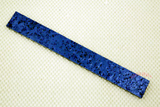 (1) Arctic Blue Ice  Kirinite 1/4 X 1.5 X 12 inches approx KNIFE HANDLE SCALE