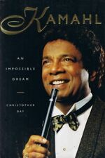 SIGNED KAMAHL An Impossible Dream Biography hard cover book