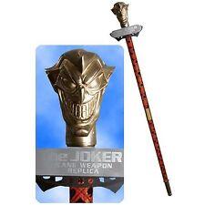 DC COMICS JLA TROPHY ROOM: BATMAN JOKER's CANE Replica Statue Bust Harley Quinn