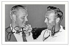 Arnold Palmer & Jack Nicklaus Golf autógrafo Firmado Foto impresión