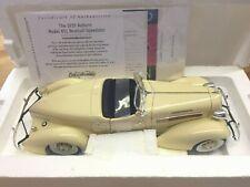 1935 Auburn 851 Boattail Speedster 1:18 th scale model - Ertl Hamilton Mint 1/18