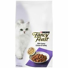 New listing Purina 50913 Fancy Feast Gourmet Dry Cat Food with Chicken and Turkey 12lbs.