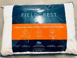 BRAND NEW! Fieldcrest-  Firm Down Alternative Pillow - Standard/Queen