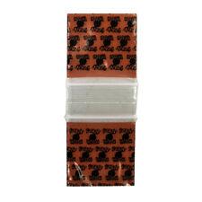 """200 SMALL BAGGIES 1515 1.5/"""" X 1.5/"""" MINI ZIP LOCK POLY DESIGNER BAGS KING CROWN"""