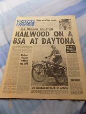 Motor Cycle News/25 feb 1970/Montesa/Bultaco/Joel Robert/BSA A650T/MX