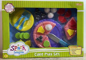 Spark Create Imagine Cake Play Sets Pretend Play 32 Pieces 3+ NEW