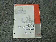 Case IH STX STX375 STX425 STX450 STX500 Steiger Tractor Owner Operator Manual