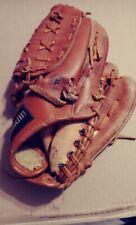 "RIGHT H Vintage FRANKLIN Leather Baseball Glove BallHawk Field Flex 4129 11.5"""
