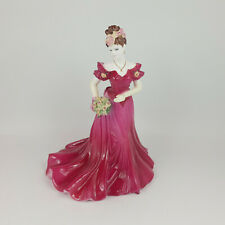 More details for coalport figurine - jenny - ladies of fashion - 291 cp