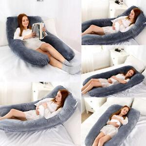 U-förmige Körperkissen Schwangerschaftskissen für Schwangere Stillen Kissen