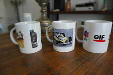 LOT DE 3 MUGS DE COLLECTION ELF NEUF