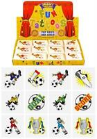 Children Kids Girls Boys Football Temp Tattoos Party Bag Birthday Pinata Filler