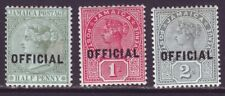 Jamaica 1890 SC O2-O4 MH Set