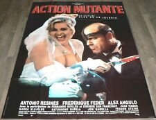 ACTION MUTANTE - Alex de la Iglesia - AFFICHE D'ÉPOQUE 120CM/160CM (1993)
