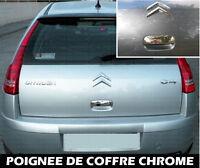 CITROEN C4 BERLINE COUPE 04-10 ENJOLIVEUR CHROME COUVRE POIGNEE COFFRE CACHE 2.0