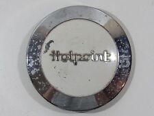 Vintage Hotpoint Emblem Metal Appliance Decal Script Trim Deco Sign Nameplate HP