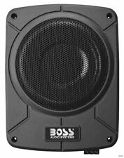 """BOSS Audio BAB8 8"""" 800W Amplified Car Audio Subwoofer System Amp with Enclosure"""