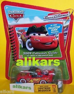 NIGHT VISION Lightning McQUEEN - #109 Race O Rama Collection Disney Mattel Cars