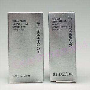 Amore Pacific Vintage Single Extract Essence 0.16 oz. Treatment Enzyme Peel Mini