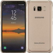 Samsung Galaxy S8 Active - 64GB-DORADO-Desbloqueado de fábrica; AT&T/Móvil-T