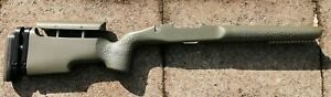 Remington 700 Short Action Mcmillan Adjustable Stock olive
