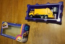 Vintage In Poor Box SIKU 2820 Mercedes Garbage Truck 1:55 Fast Shipping