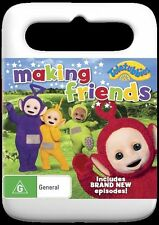 Teletubbies - Making Friends (DVD, 2016) Blue Case -  New & Unsealed R4 (D228)