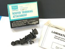 Sears Craftsman Router Trimming Attachment No. 9-25731 - Laminates & Plastics