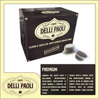 400 capsule DELLI PAOLI compatibili BIALETTI miscela Premium cremoso Napoli