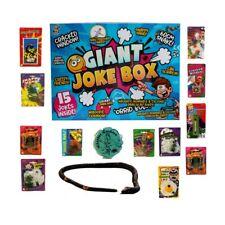 Giant Joke Box 15 Assorted Tricks Jokes Novelty Halloween Christmas Practical