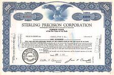 Brandywine Raceway Association, Inc. Stock Certificate 1963