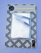 Modern Expressions Cellphone Pocket Silver NEW
