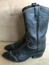 TONY LAMA COWBOY WESTERN BOOTS SIZE 5 D YOUTH YOUNG MEN