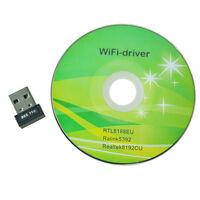 Mini 150M USB2.0 WiFi Wireless LAN 802.11 n/g/b Adapter HY