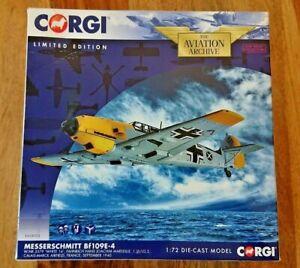 Corgi AA28003 Messerschmitt BF109E-4 WHITE 14 Hans Joachim Marseille Ltd Edition