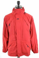HELLY HANSEN Mens Windbreaker Jacket Size 40 Medium Red Polyamide