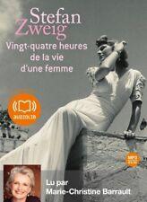 Vingt-quatre heures de la vie d'une femme - Stefan Zweig | Livre audio (neuf)