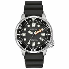 New Citizen Eco-Drive Promaster Dive Polyurethane Strap Men's Watch BN0150-28E