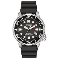 New Citizen Eco-Drive Promaster Dive Polyurethane Strap Men's Watch BN0150-28E