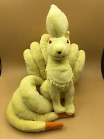 Genuine Pokemon Ninetales Tomy Plush Kids Soft Stuffed Animal Toy Doll Nintendo