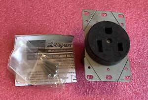 Arrow Hart 5709N Receptacle, Nema 6-50 50A 250V