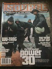 The SOURCE Magazine WU TANG CLAN January 2001 No.136