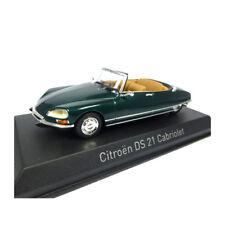 Norev 157080 CITROEN DS 21 Cabriolet Verde 1971 Scala 1:43 MODELLINO AUTO NUOVO