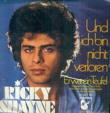 """7"""" Ricky Shayne/Und Ich Bin Nicht Verloren"""