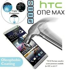 100% Genuine Tempered Glass Film 9H Premium LCD Screen Protector for HTC ONE MAX