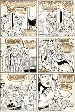 X-Factor #4 Page 10 Original Art 1986 By Joe Rubinstein and Keith Pollard