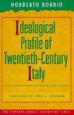 Ideological Profile of Twentieth-Century Italy, Bobbio, Norberto, Good Book